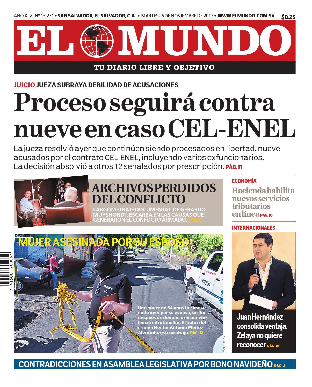 Mundo261113 by Diario El Mundo - issuu