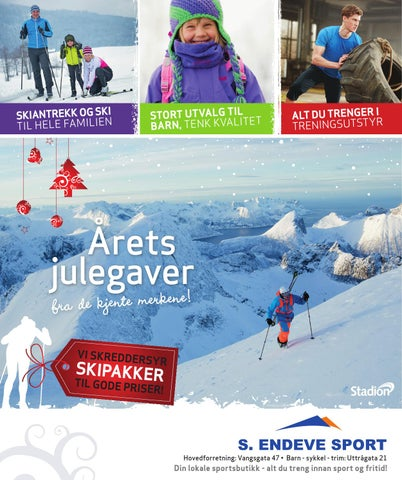 c1ff7639 S. Endeve Sport - Årets Julegaver 2013 by Stadion AS - issuu