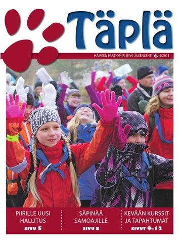 Täplä 4  13 by Hämeen Partiopiiri - issuu f75b136d1f