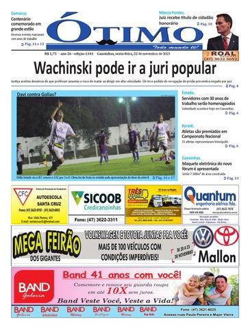8ee5674cec Edição 1341 em pdf by Jornal Ótimo - issuu