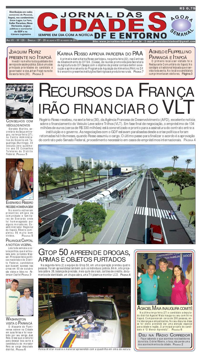 169c549dc Jornal das Cidades Edição 126 by Jornal das Cidades DF - issuu