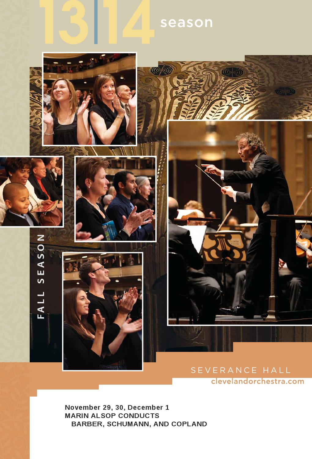 Hall Buick Gmc >> The Cleveland Orchestra November 29, 30, December 1 ...