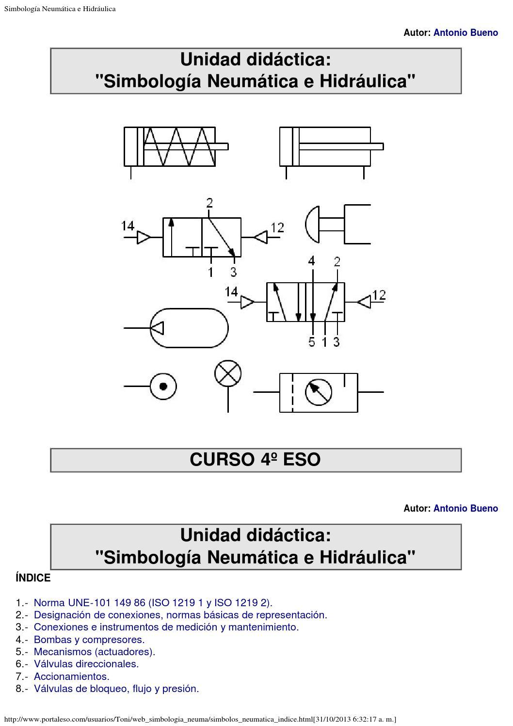 Valvulas hidraulicas y neumaticas