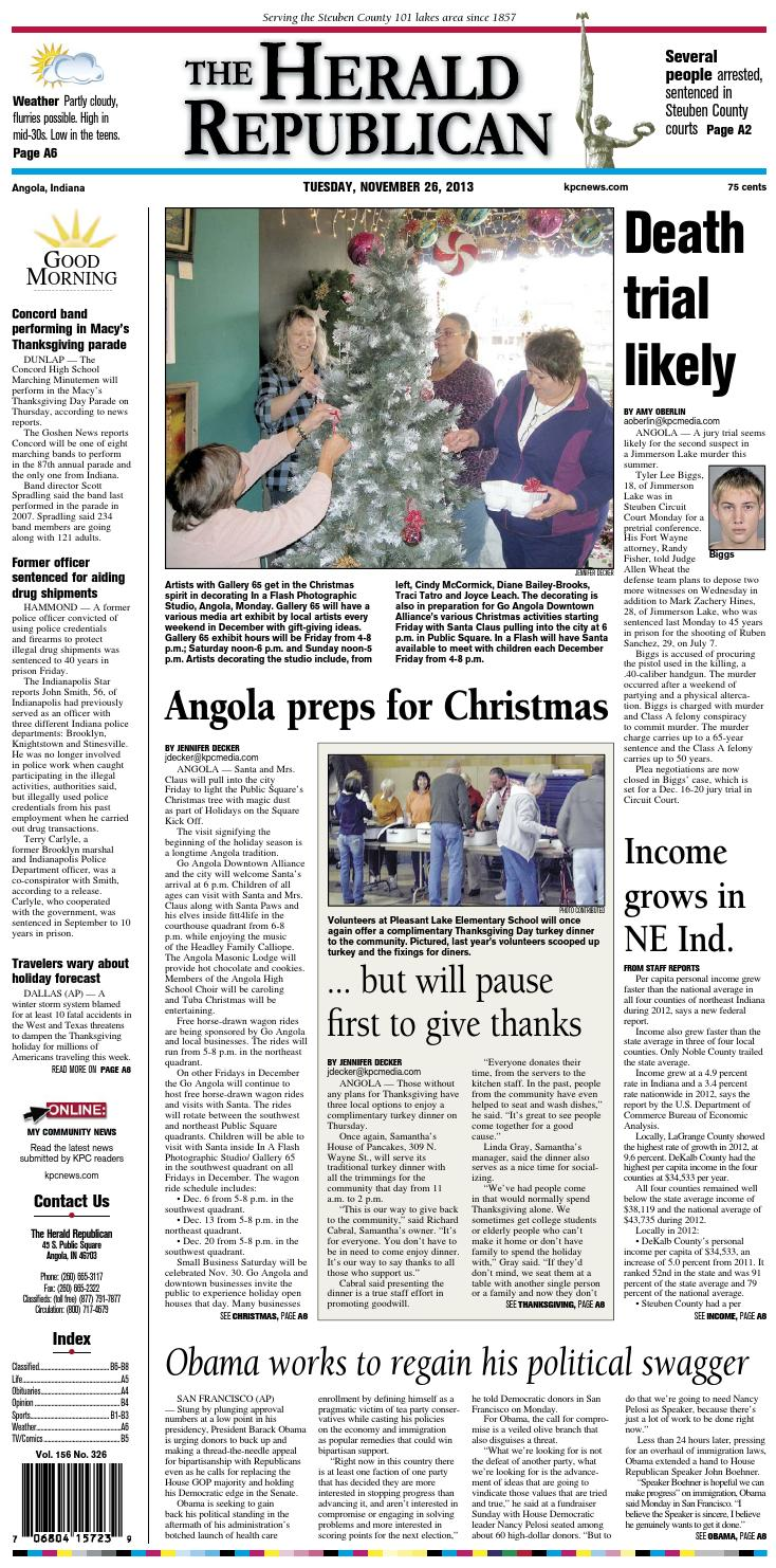 the herald republican november 26 2013 by kpc media