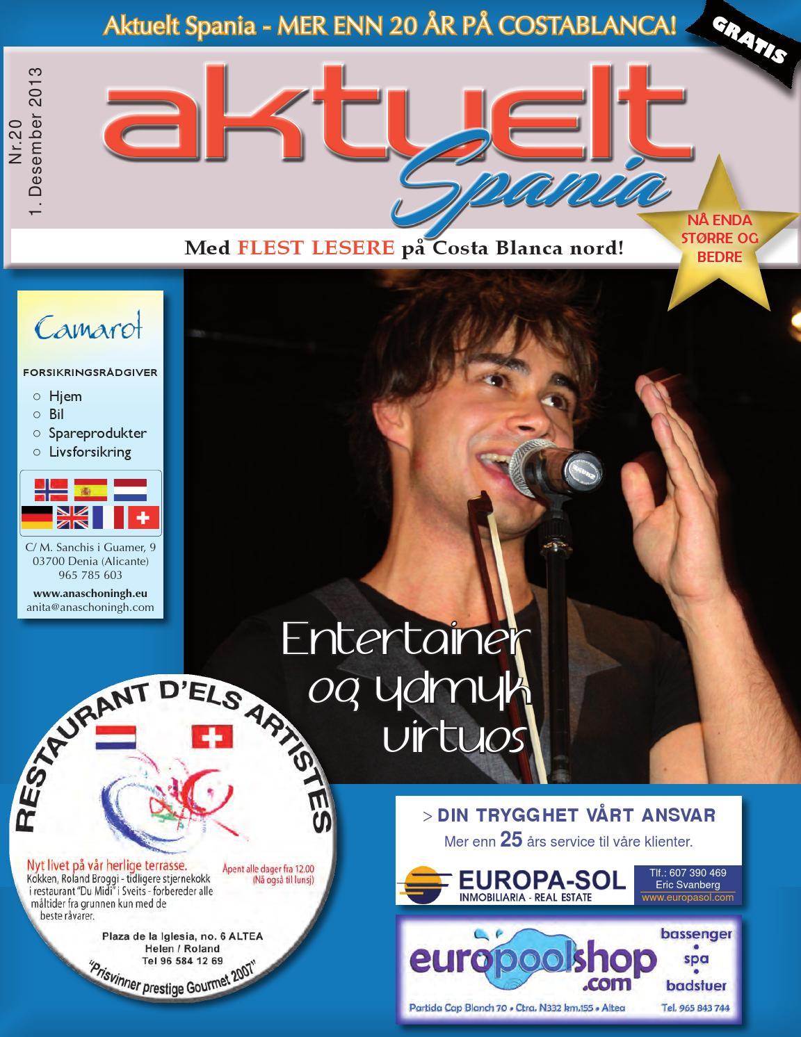 91e91473 Aktuelt Spania #20, 2013 by Aktuelt Spania - issuu