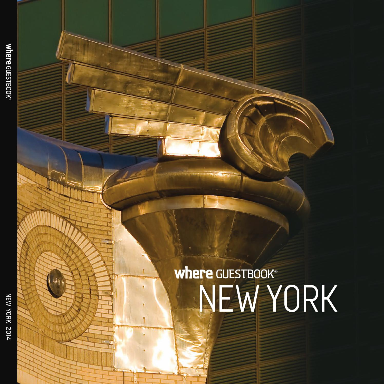 Edition Guestbook 2014 New Where York roCBxed