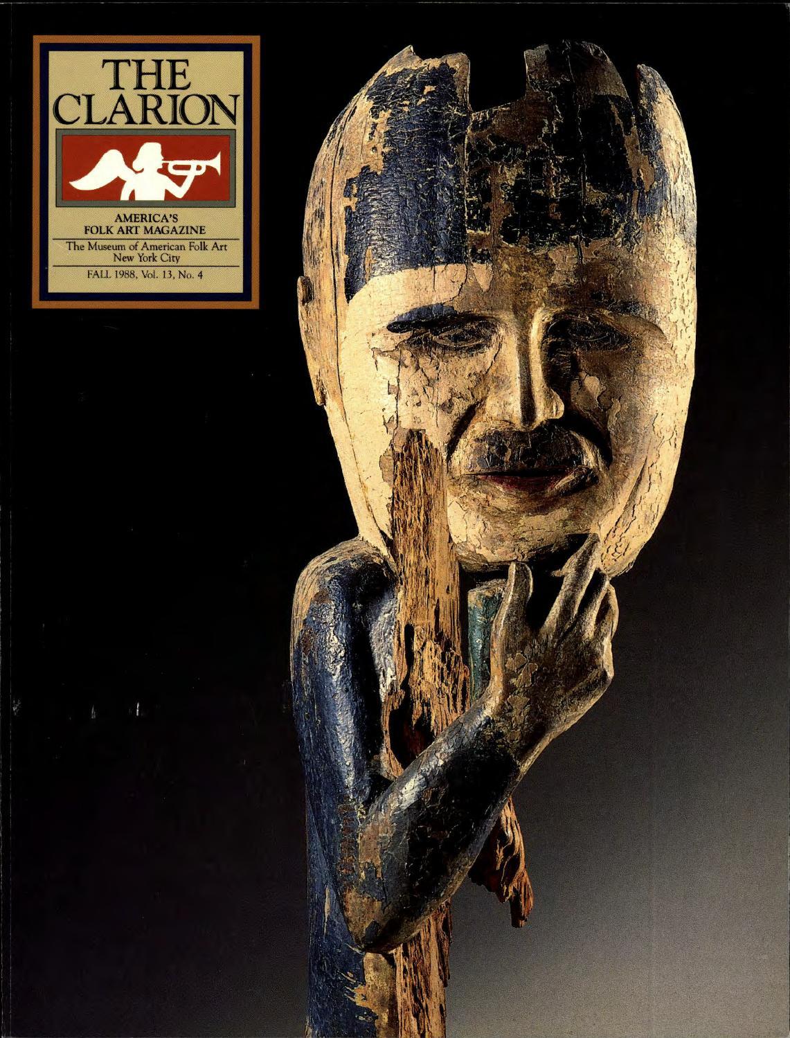 The Clarion (Fall 1988) by American Folk Art Museum - issuu d9486b22eab24