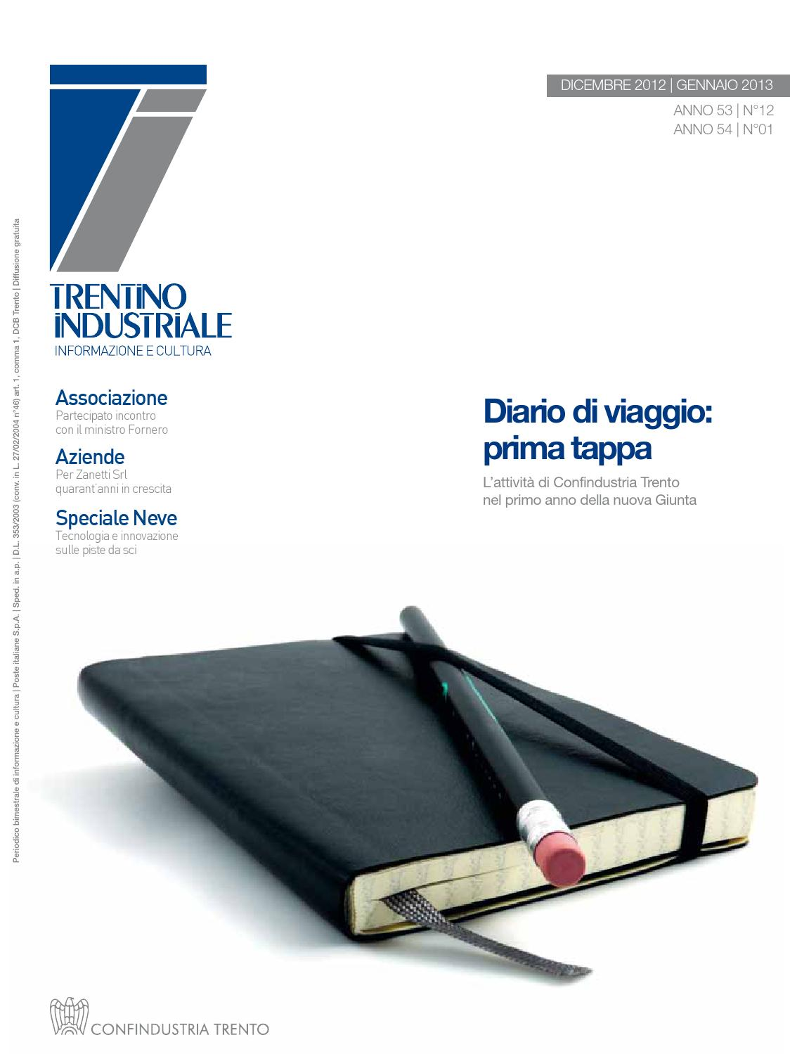 091ee2d776 Trentino Industriale | dicembre - gennaio 2013 by Confindustria Trento -  issuu