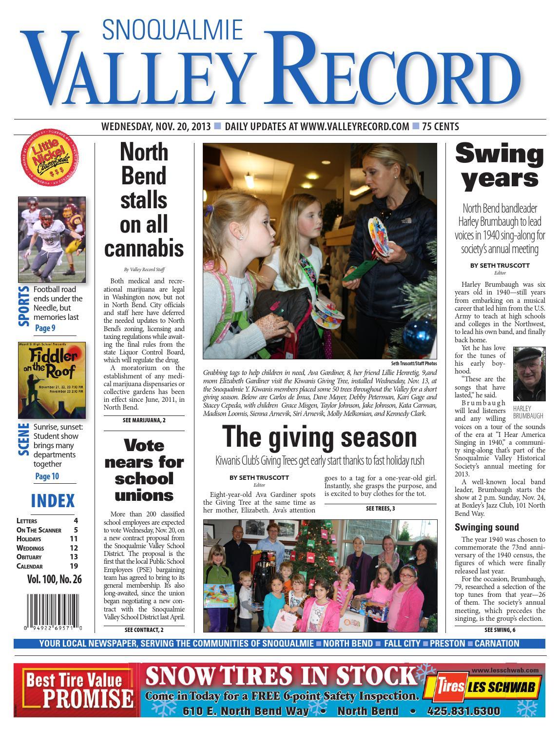 Snoqualmie Valley Record, November 20, ...