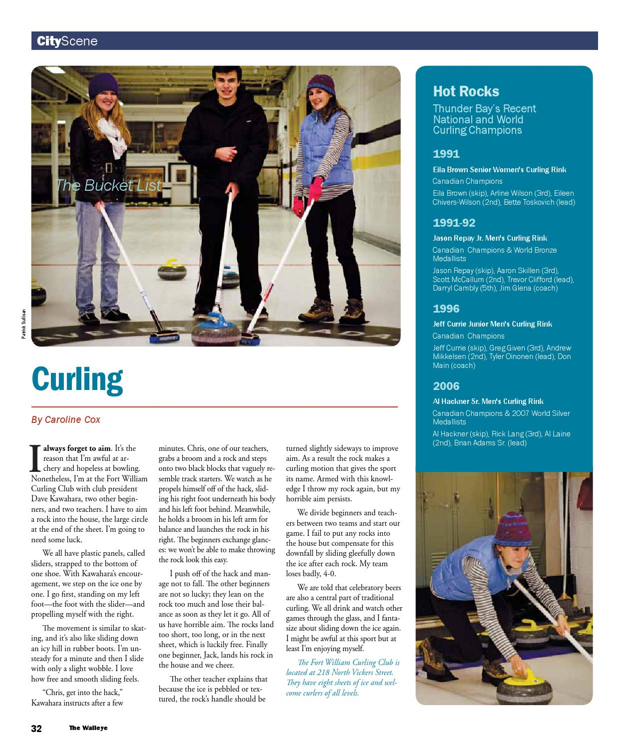 December 2013 By The Walleye Magazine