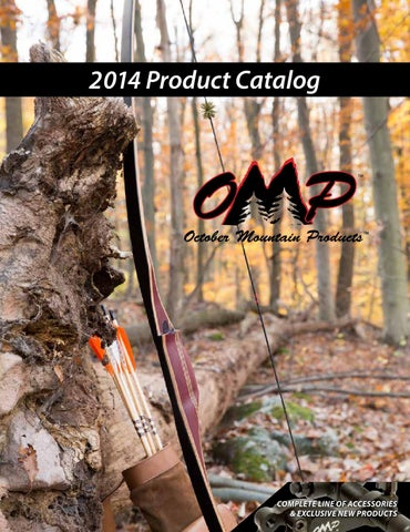 """OMP October Mountain Parabolic Points 5//16/"""" 85 Grain 12 Pack"""