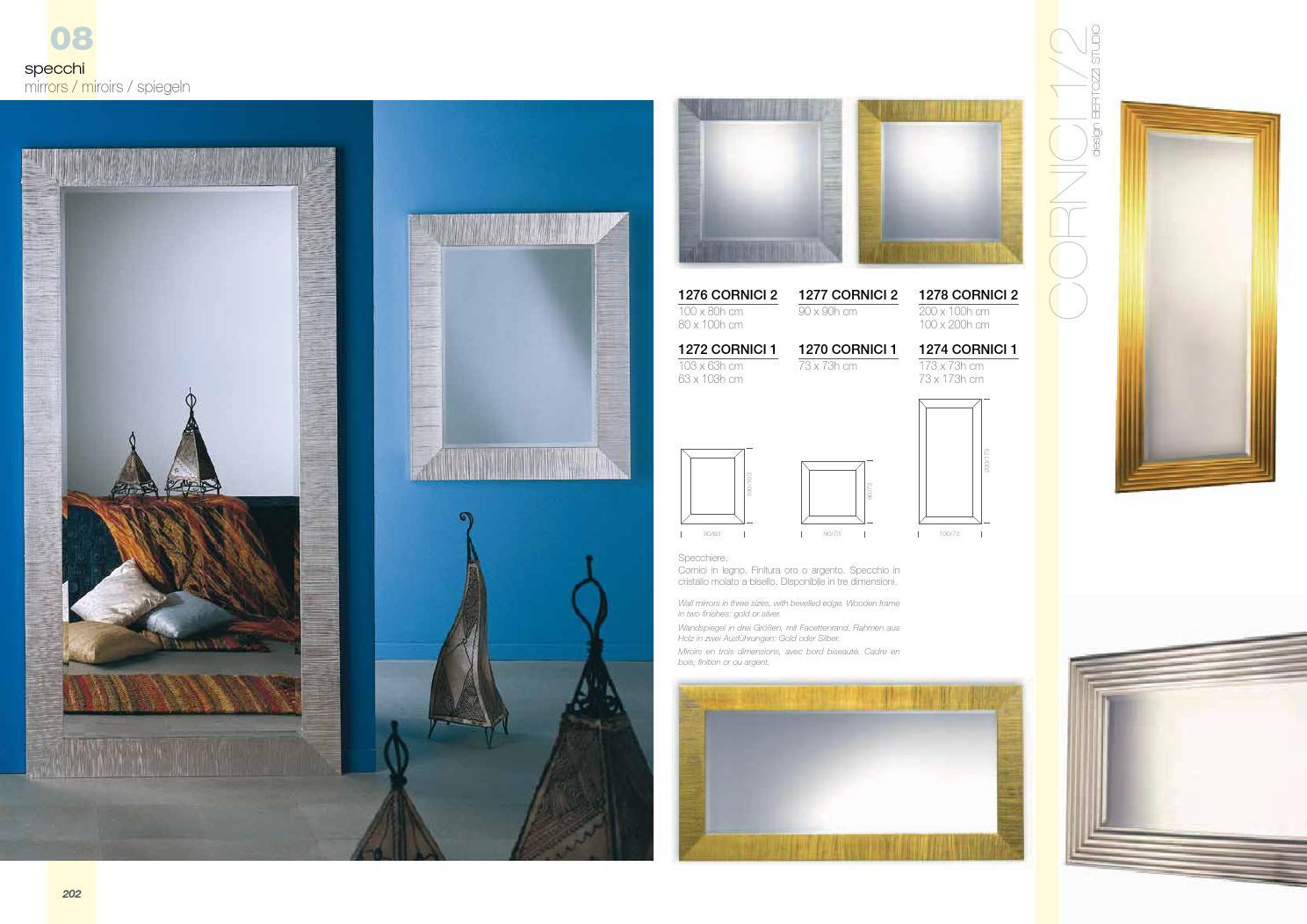 Specchio 100 X 80.La Vetreria Milan Italia By Sp Studio Barcelona Issuu