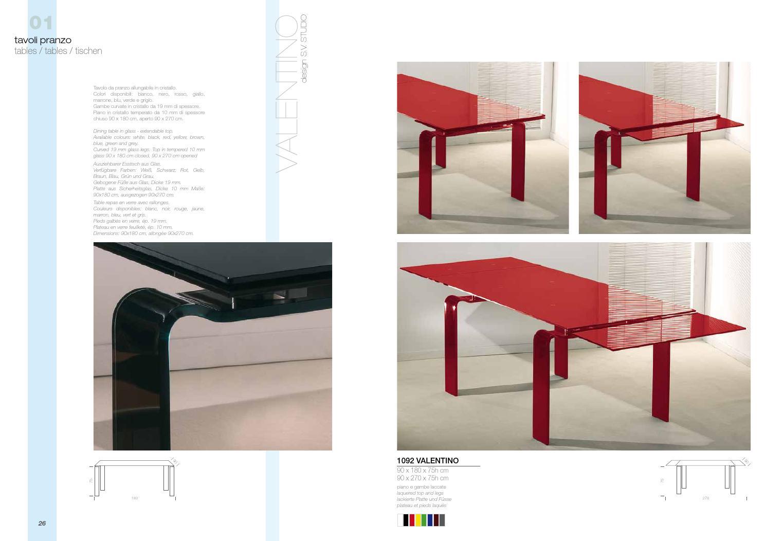 Tavolo Da Pranzo Allungabile Vetro.La Vetreria Milan Italia By Sp Studio Barcelona Issuu