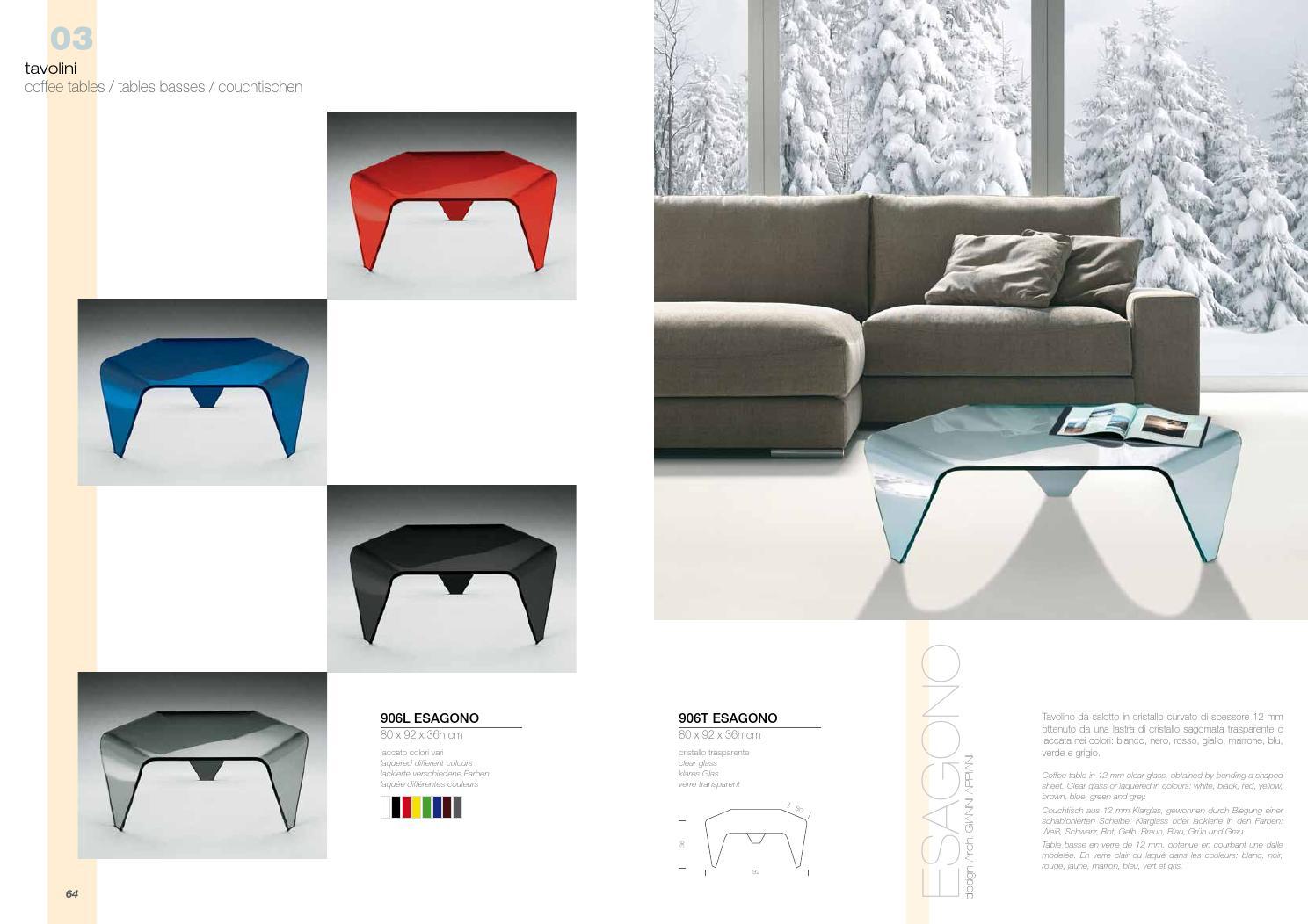Tavolino Salotto Verde : Tavolino salotto cristallo curvato. best tavolino salotto cristallo