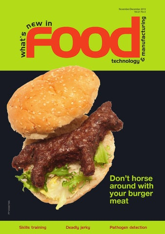 Whats New In Food Technology Novdec 2013 By Westwick Farrow Media