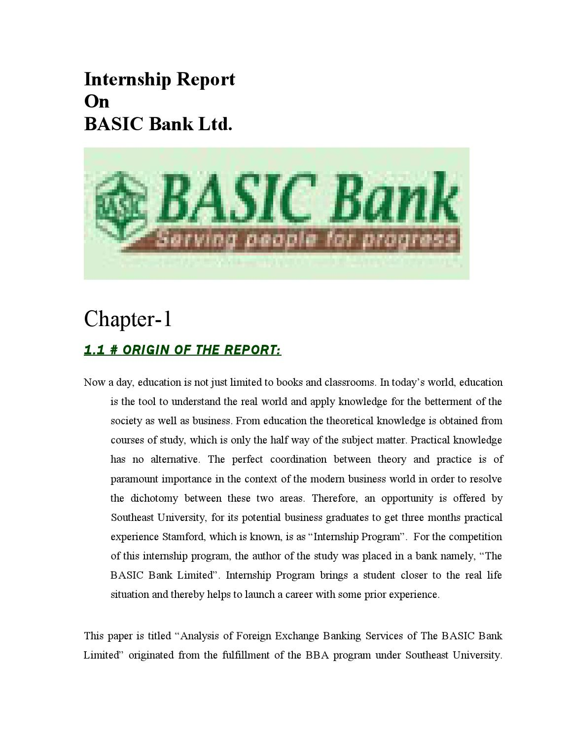 report on basic bank ltd There are three different major credit reporting agencies — the experian credit bureau, transunion ® and equifax ® — that maintain a record of your credit history known as your credit report your fico score is based on the information in your credit report at the time it is requested.