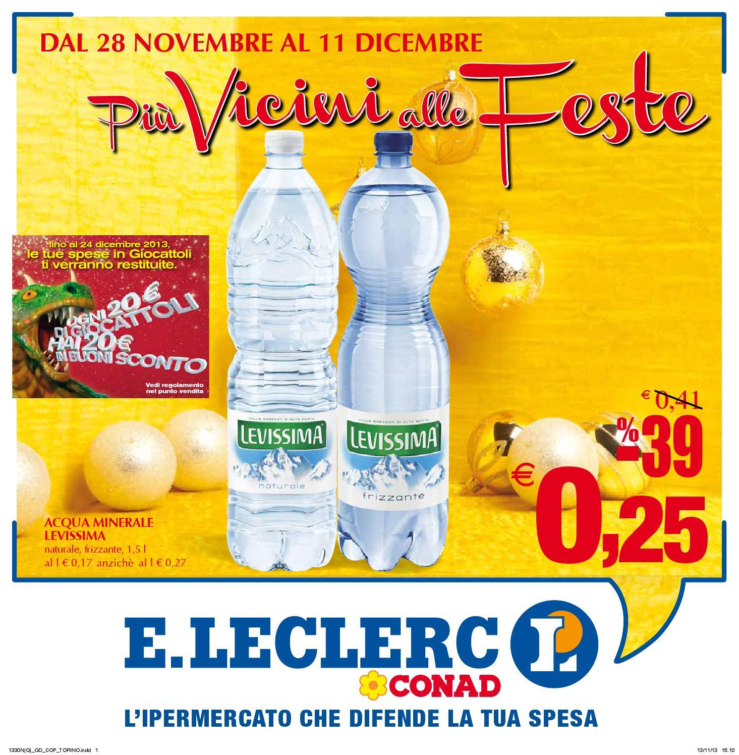 Volantino offerte ipermercato leclerc conad di torino for Volantino acqua e sapone l aquila