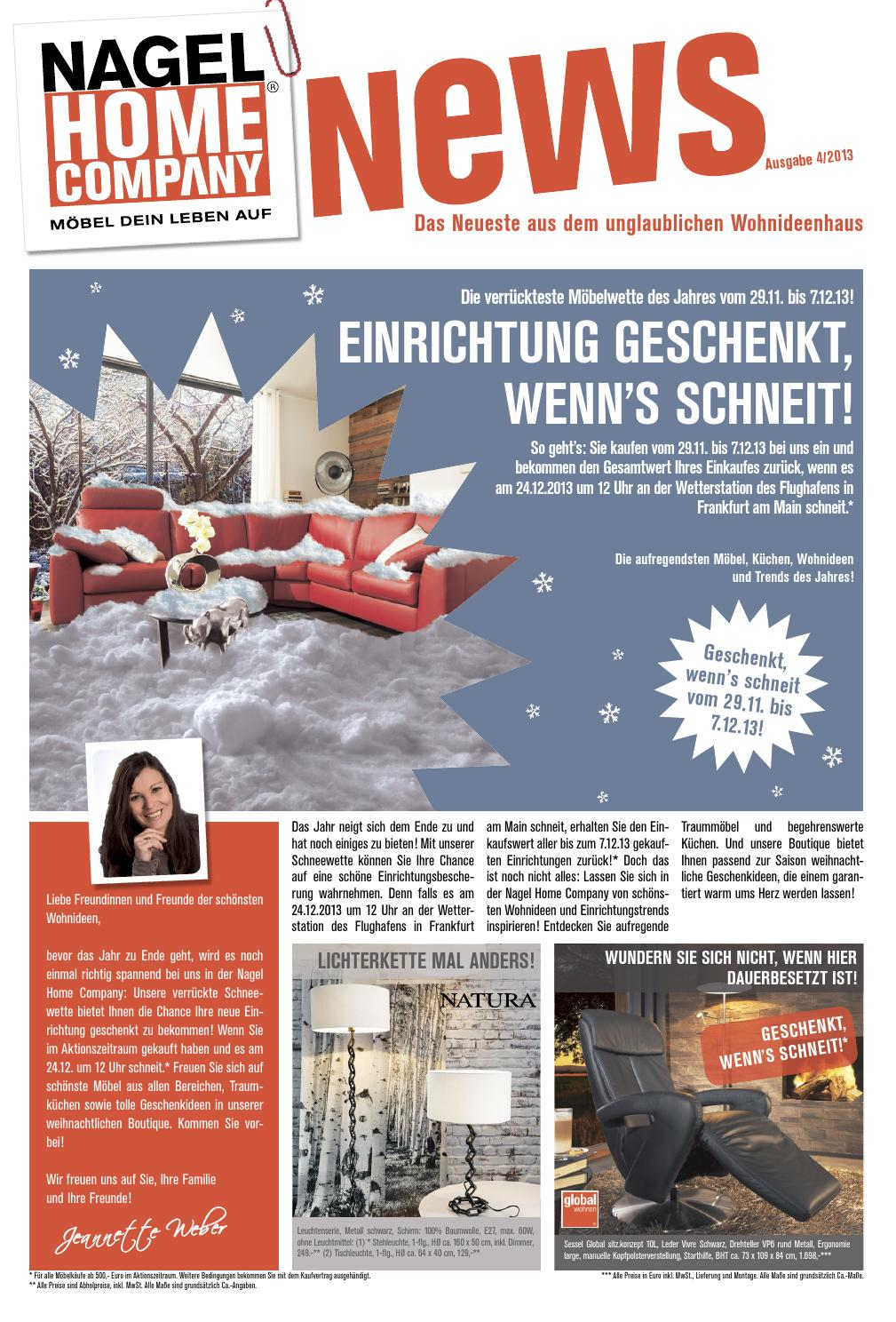Nagel Home Company News 04/2013 by Perspektive Werbeagentur - issuu
