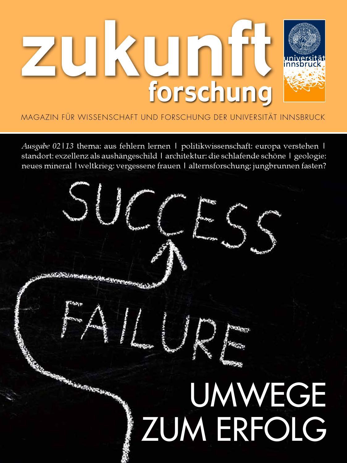 Forschungsmagazin der Universität Innsbruck - 02/2013 by Universität ...