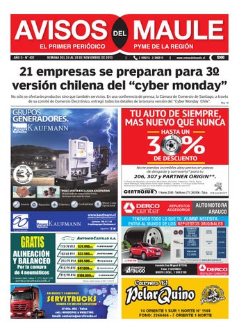 0f0112e18 Edicion digital 432 by Avisos del Maule - issuu