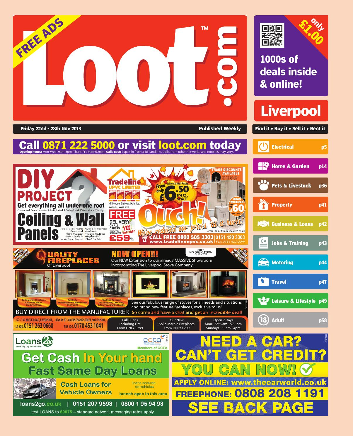 purchase cheap 1fb0c 4662b Loot Liverpool, 22nd November 2013 by Loot - issuu