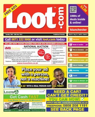 450ba2d9642f Loot Manchester