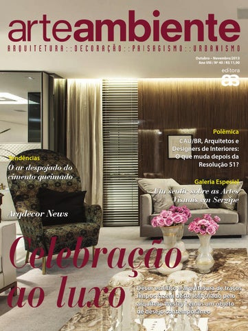 a4801029701ef1 Arteambiente ed 40 by Editora ArteAmbiente - issuu