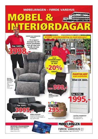 Ypperlig Møbelringen mobler og interiordagar by findriv AS - issuu NE-85