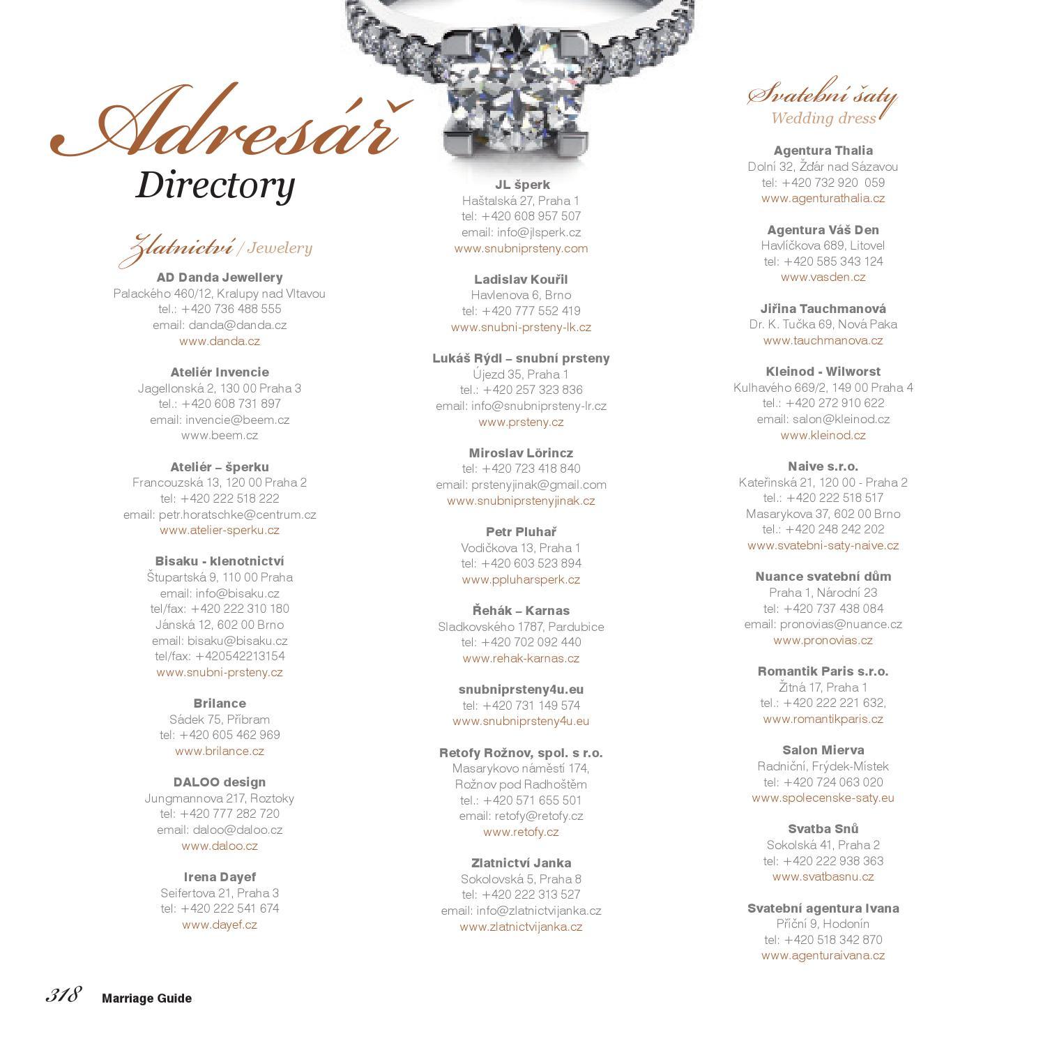 Marriage Guide Wedding Podzim 2013 By Kollman Partners S R O Issuu