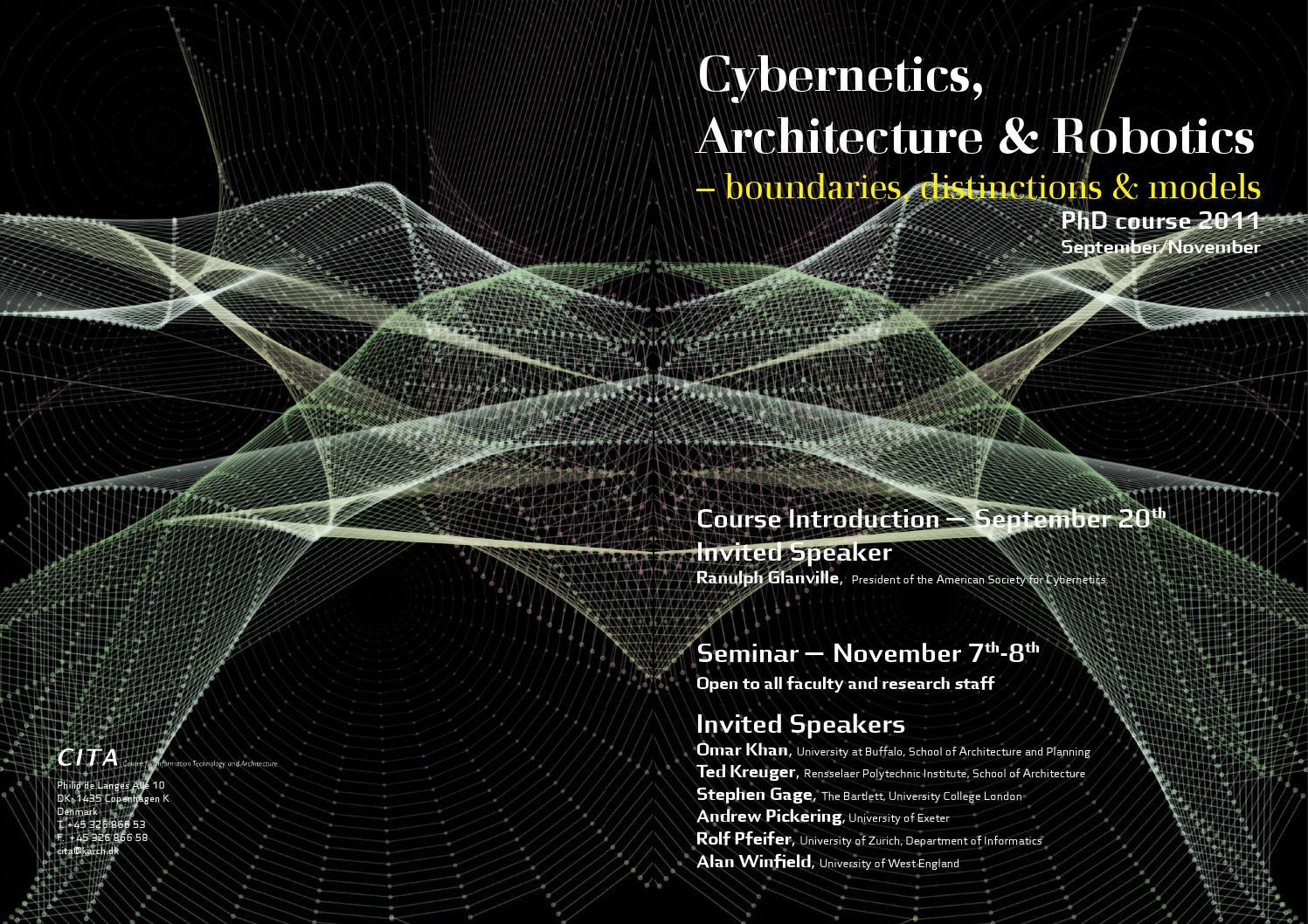 cybernetics and design glanville ranulph