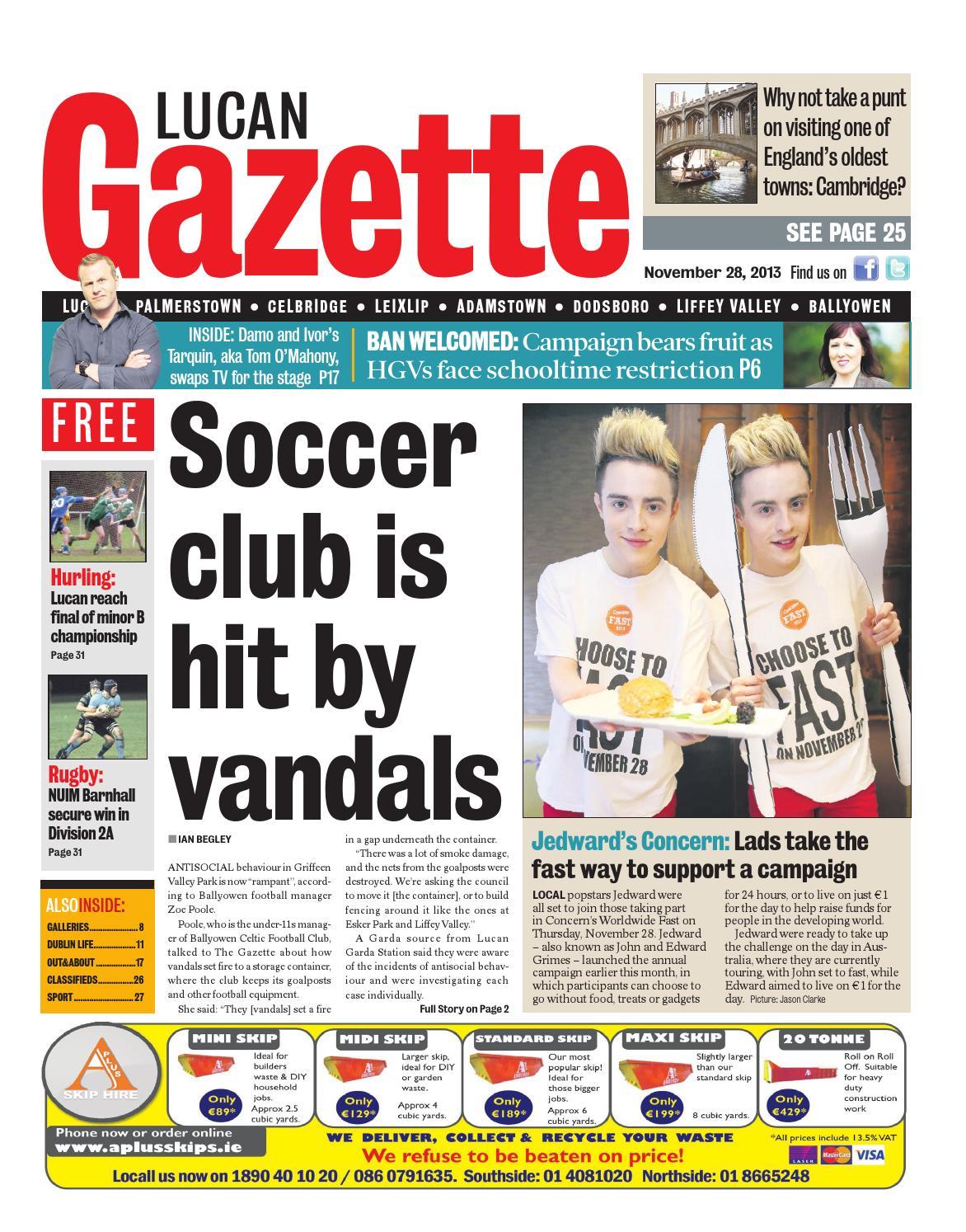 Lucan Sport - Dublin Gazette