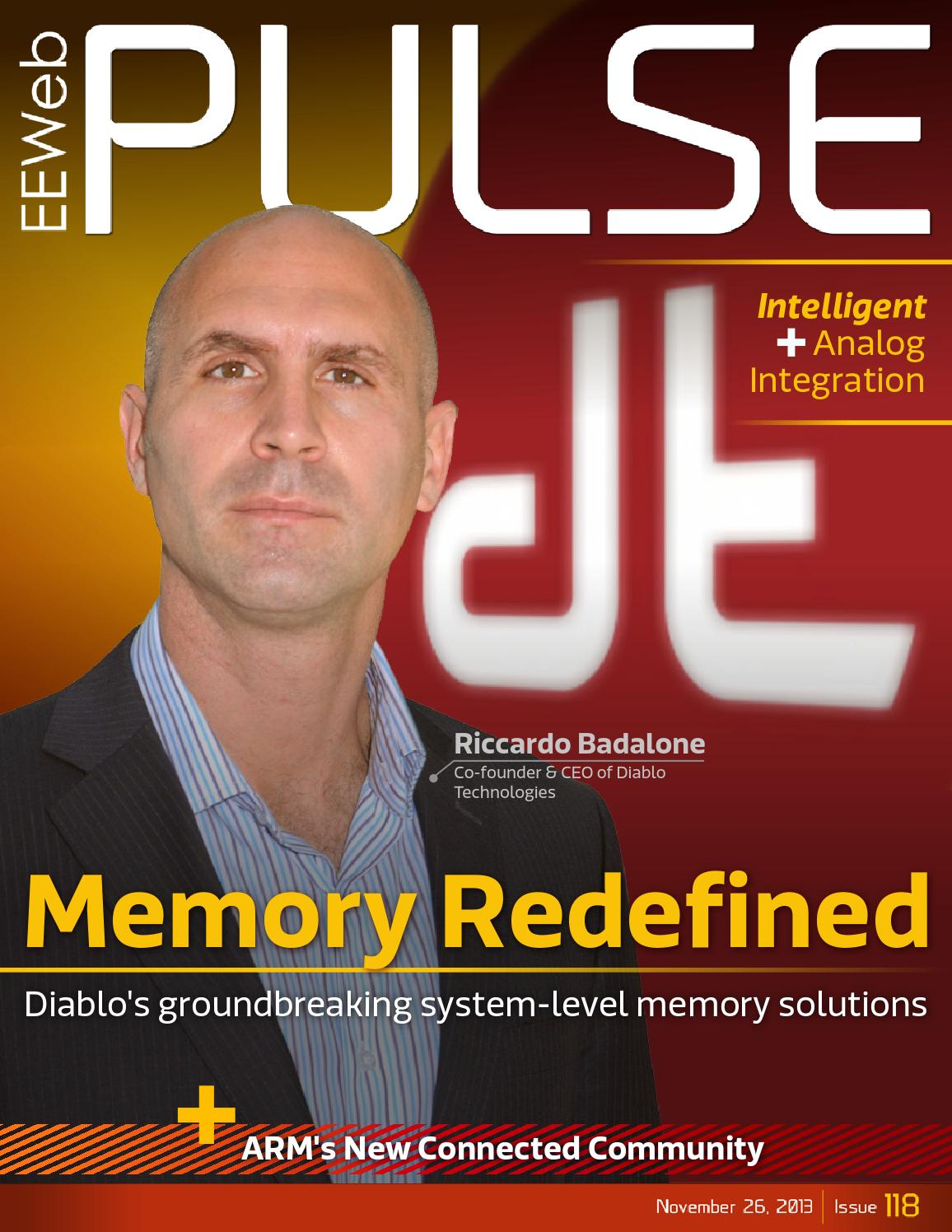 Eeweb Pulse 118 Diablo Technologies By Magazines Issuu Battery Tester Circuit Schematic Community