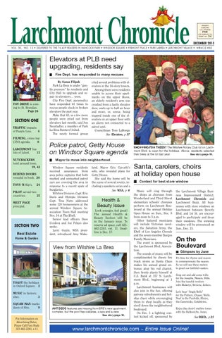 Lc issue 12 13 100 by Larchmont Chronicle - issuu