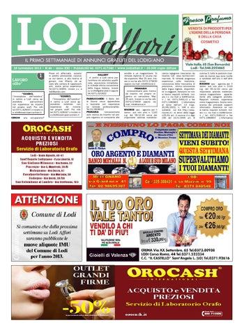 Lodi Affari 28 Novembre by Lodi Affari - issuu d6e0dbdcacb