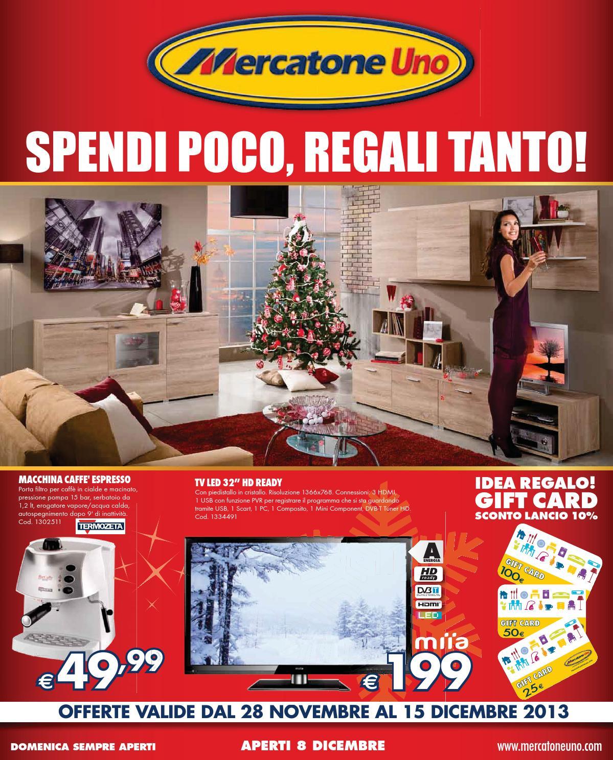 Porta Tv Mercatone.Mercatoneuno Catalogo 28novembre 15dicembre2013 By