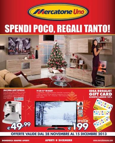 Mercatone Uno Porta Tv.Mercatoneuno Catalogo 28novembre 15dicembre2013 By