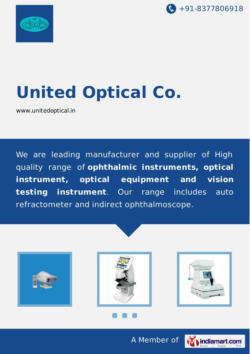 United optical co by United Optical Co - issuu