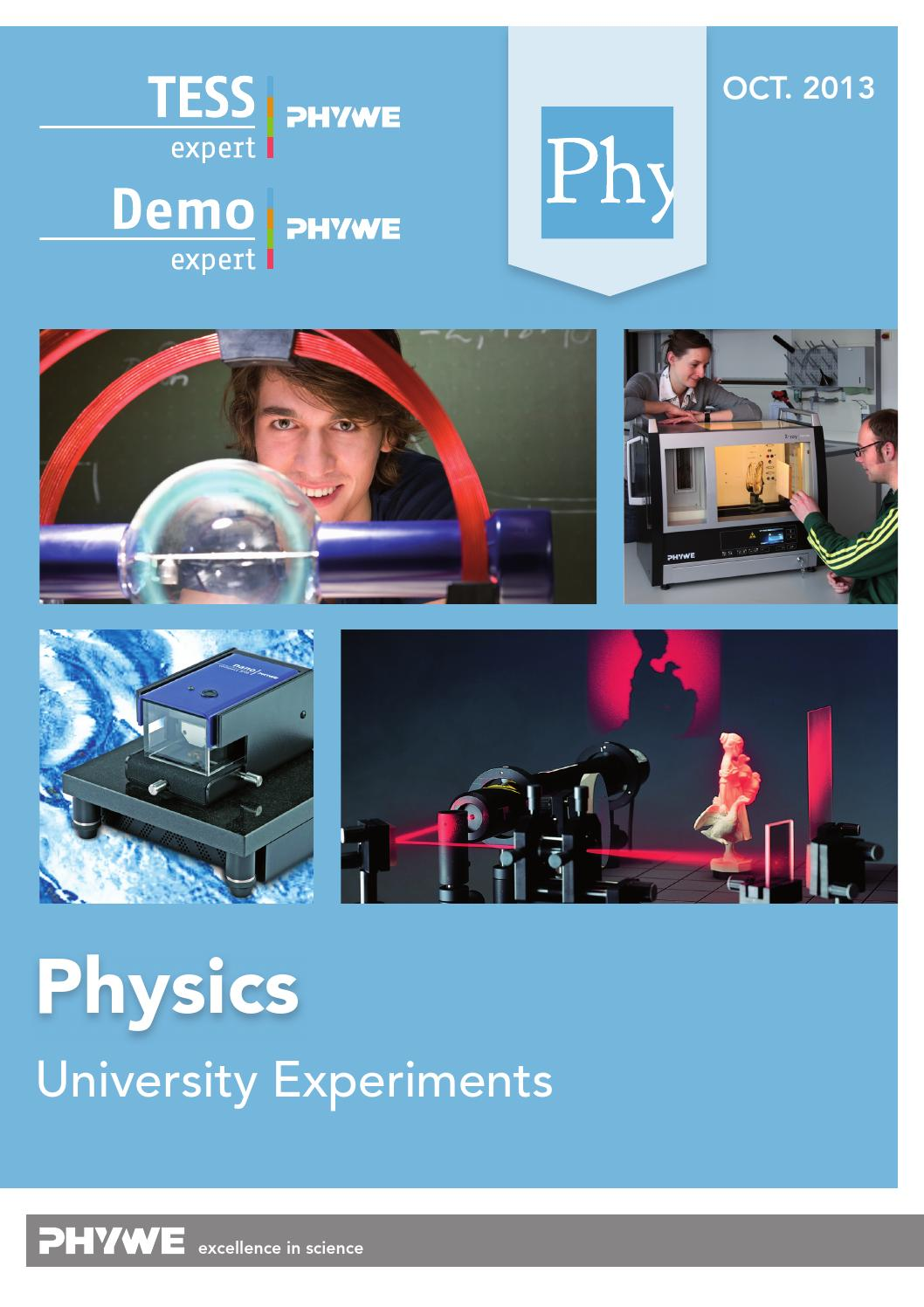 mit physics experiment 105 Study illinois state university physics 105 flashcards and notes conquer your course and sign up for free today.