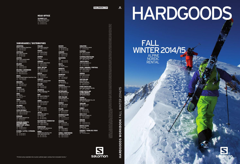 2013 Salomon Alpine Tech Manual | Ski | Screw