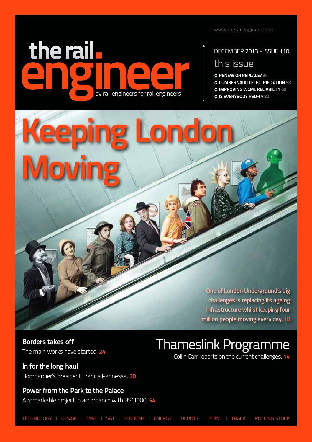The Rail Engineer Issue 104 June 2013 By Media Issuu Other Circuit Skills Diy Videos Collin 110 December