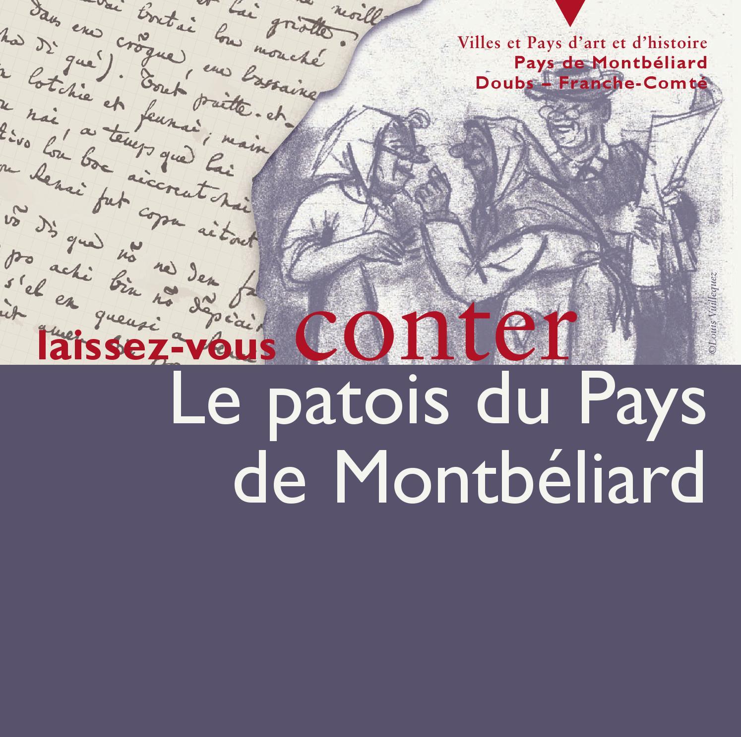 """Cours De Dessin Montbéliard livret découverte """"le patois du pays de montbéliard"""""""