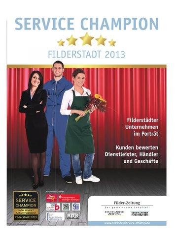 Service Champion Filderstadt 2013 By Stuttgarter Zeitung ...