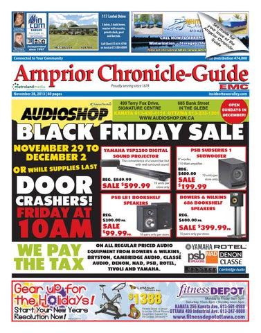 Arnprior112813 By Metroland East Arnprior Chronicle Guide Issuu