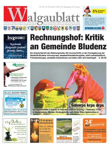 Walgaublatt 48 by Regionalzeitungs GmbH - issuu