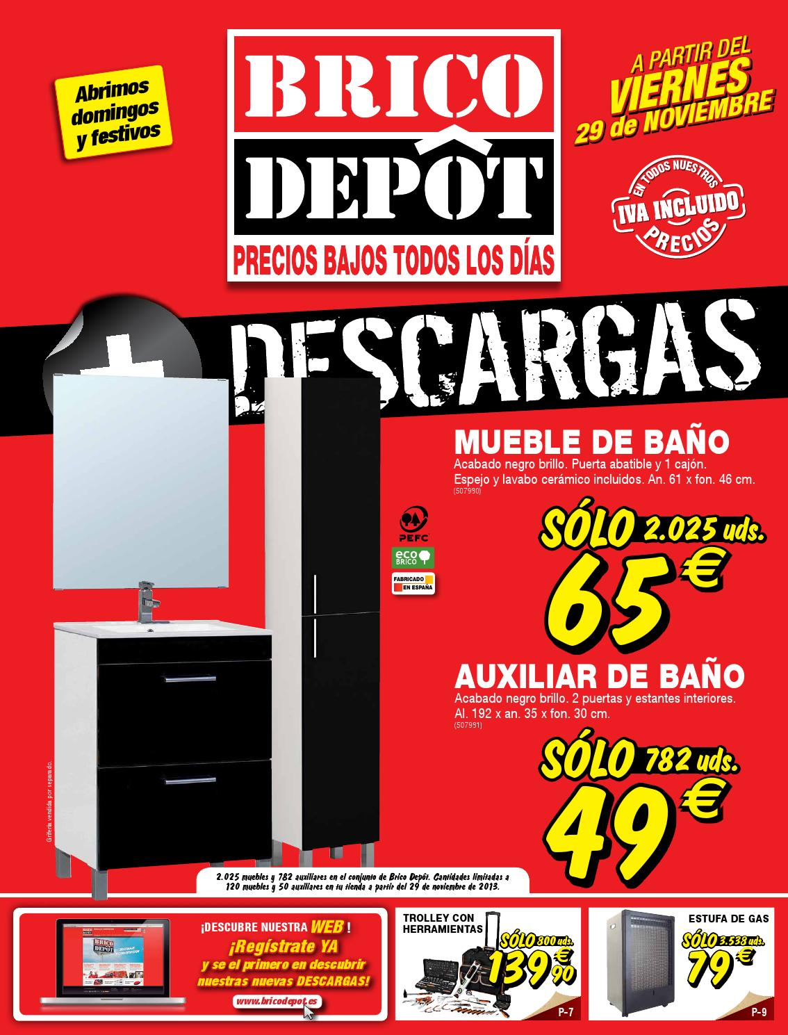 Catalogo brico depot by for Lavabos bricodepot