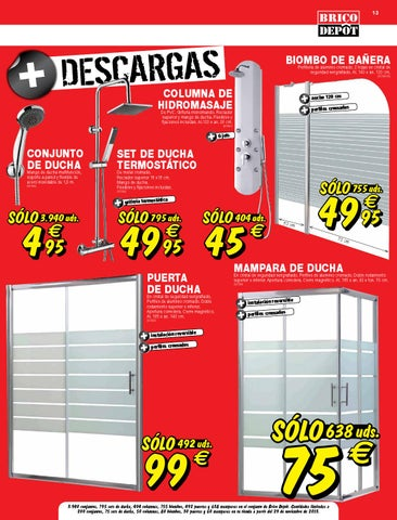 Catalogo brico depot by for Mampara ducha bricomart