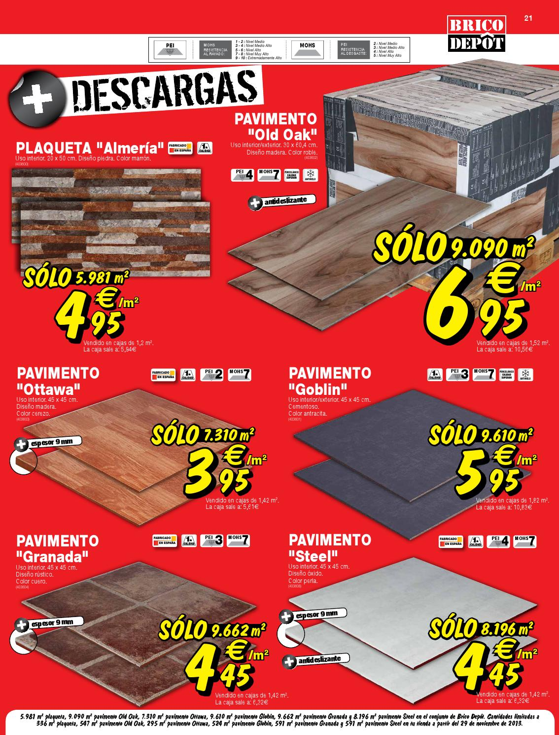 Catalogo brico depot by for Casetas de madera brico depot