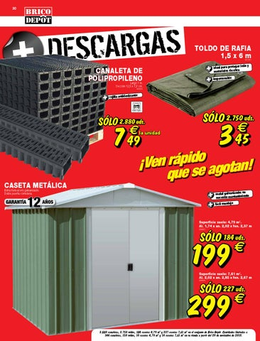 Catalogo brico depot by for Caseta jardin brico depot