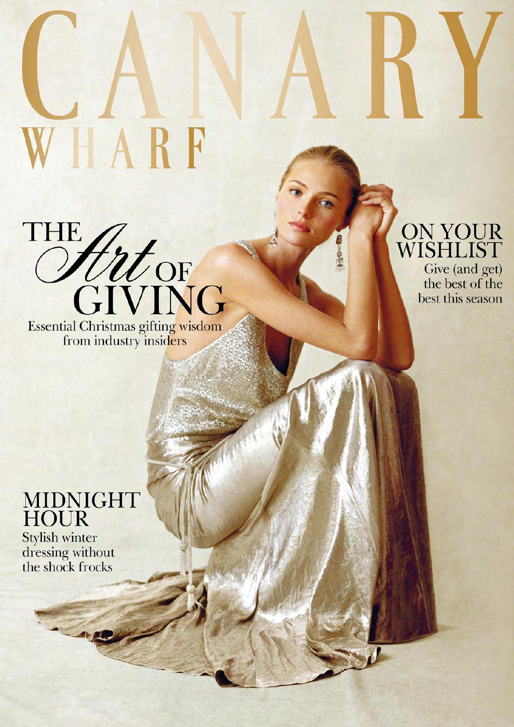 Canary Wharf Magazine December 2013