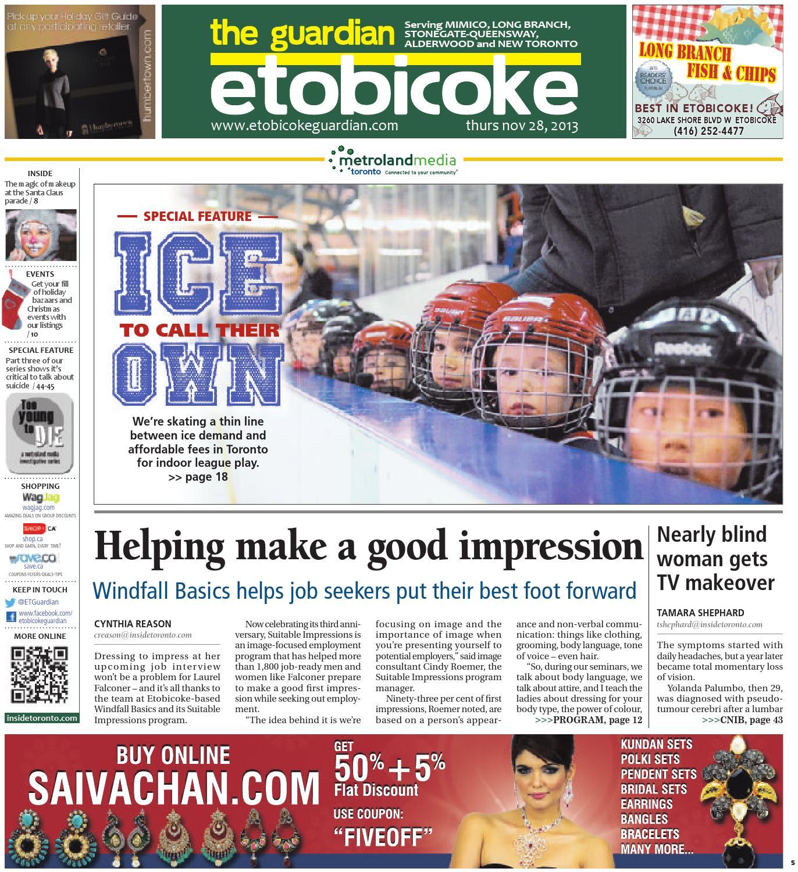 ab3adc51 November 28 South by The Etobicoke Guardian - issuu